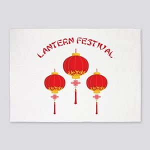 Lantern Festival 5'x7'Area Rug