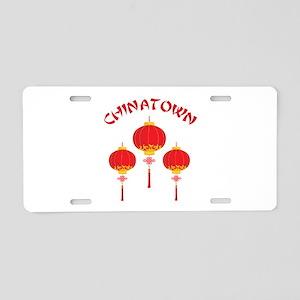 Chinatown Aluminum License Plate