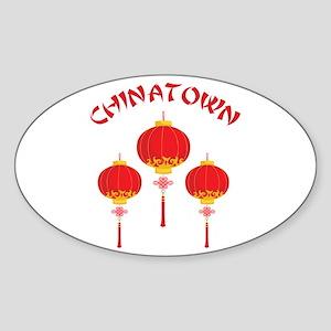 Chinatown Sticker