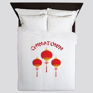 Chinatown Queen Duvet