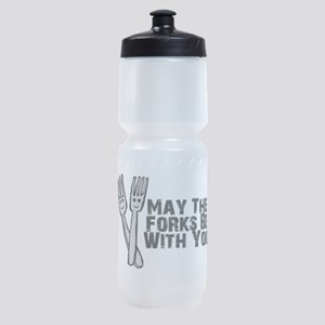 Forks Be With You Sports Bottle
