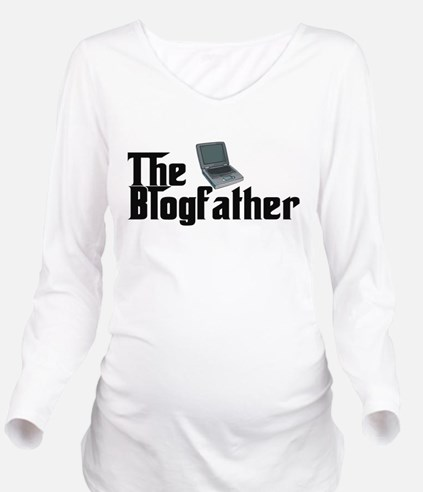 The Blogfather Long Sleeve Maternity T-Shirt
