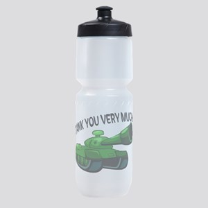 Tank You Very Much Sports Bottle