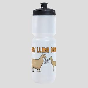Baby Llama Drama Sports Bottle