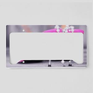 Material Girl License Plate Holder