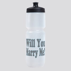 Will You Marry Me? His Sports Bottle