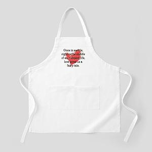 Fairy Tale Love BBQ Apron