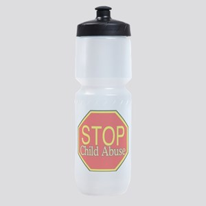 Stop Abuse Sports Bottle