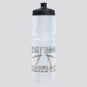 Only Strippers Sports Bottle
