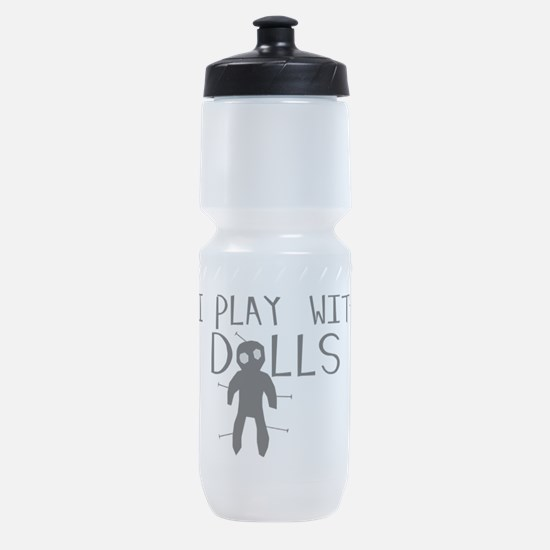 Play With Dolls Sports Bottle