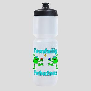 Toadally Fabulous Sports Bottle