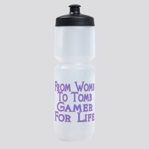 From Womb To Tomb Sports Bottle