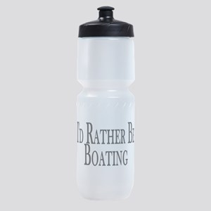 Rather Be Boating Sports Bottle