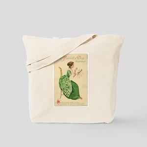 St Patricks Day Lady Tote Bag