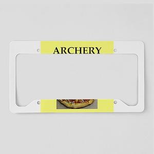archery License Plate Holder