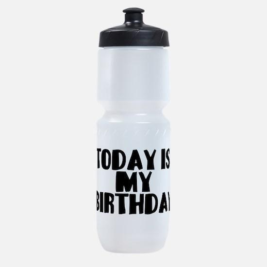 Birthday Today Sports Bottle