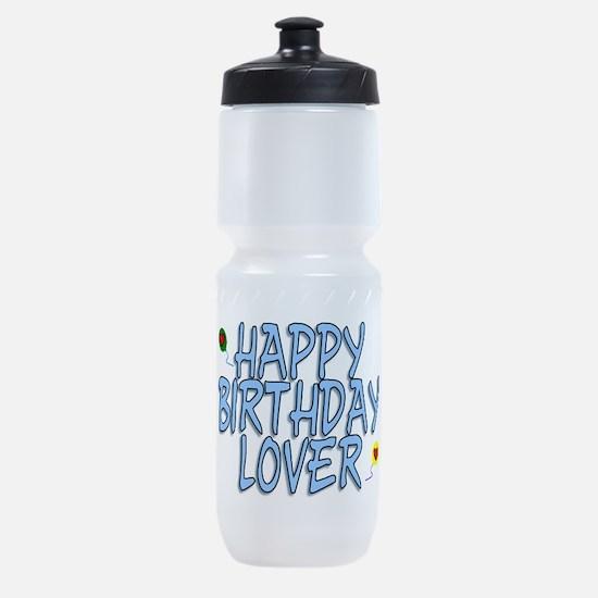 Happy Birthday Lover Sports Bottle