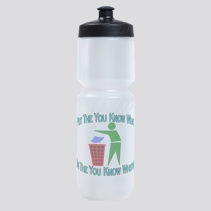You Know Where Sports Bottle