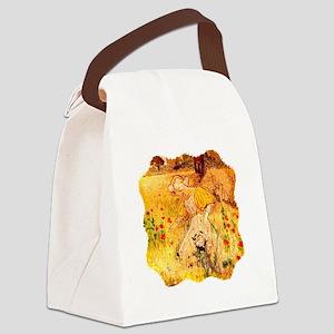 Wildflower Maiden Canvas Lunch Bag