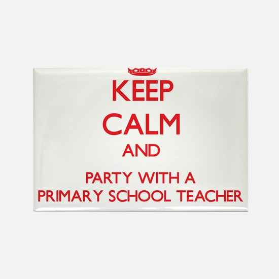 Keep Calm and Party With a Primary School Teacher