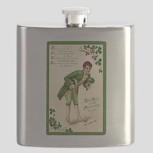 St. Patricks Day Gentleman Flask
