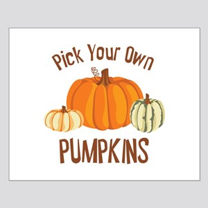 Pick Your Own Pumpkins Posters