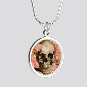 Vintage Rosa Skull Collage Necklaces
