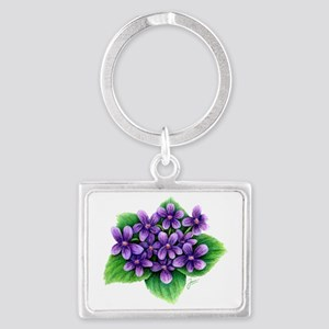 Violets Keychains