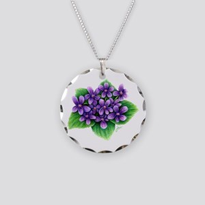 Violets Necklace