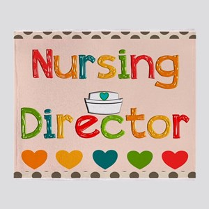 Nursing Director 2 Throw Blanket