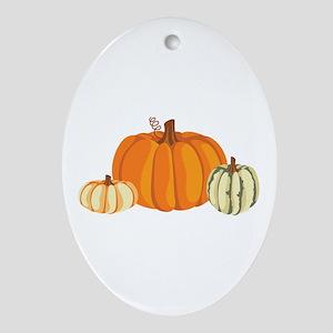 Pumpkins Ornament (Oval)