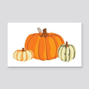 Pumpkins Rectangle Car Magnet