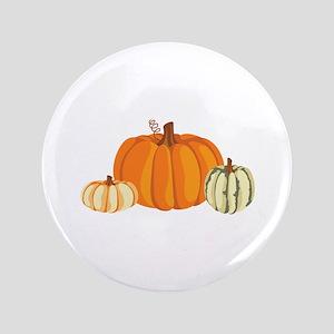 """Pumpkins 3.5"""" Button"""