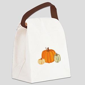 Pumpkins Canvas Lunch Bag