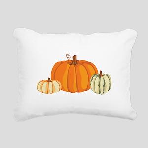 Pumpkins Rectangular Canvas Pillow