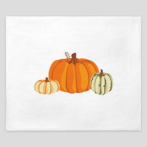 Pumpkins King Duvet