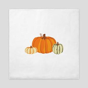 Pumpkins Queen Duvet
