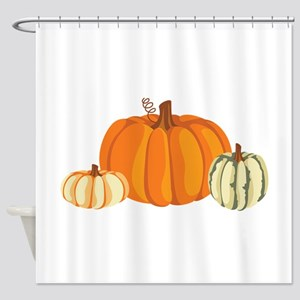 Pumpkins Shower Curtain