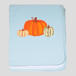 Pumpkins baby blanket