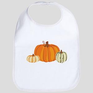 Pumpkins Bib