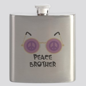 PEACE BROTHER Flask