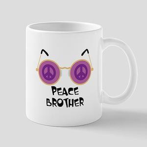 PEACE BROTHER Mugs