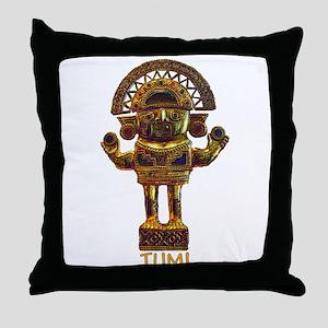 Tumi Good Luck -  Throw Pillow