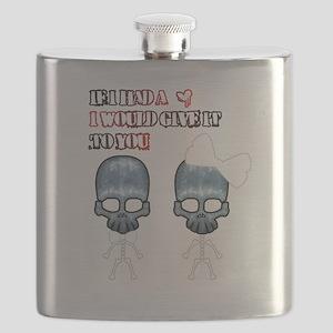 SKULL LOVE Flask