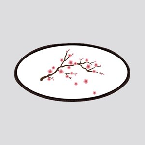 Cherry Blossom Flowers Branch Patches