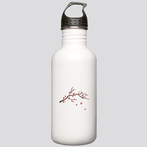 Cherry Blossom Flowers Branch Water Bottle
