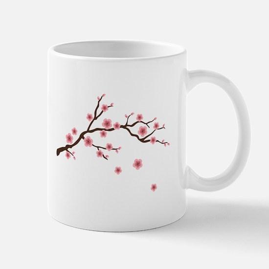 Cherry Blossom Flowers Branch Mugs