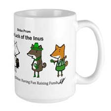Luck of the Inus 2 Large Mug