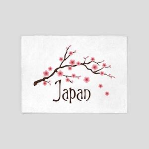 Japan 5'x7'Area Rug