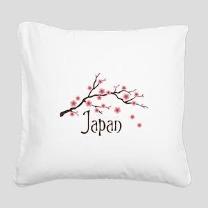 Japan Square Canvas Pillow